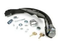 Steering lock -CLM Blindado- Vespa GT125, GT200, GTL125, GTL200, GTS125, GTS250, GTS300, GTV125, GTV250, GTV300 - anti-theft, mounting on handlebar