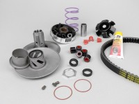 Variator-Kit -MALOSSI Overrange- Piaggio 50 cc (since 1998, long carter )