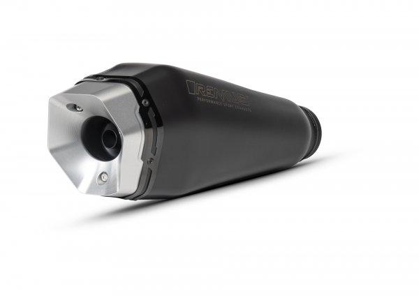 Silenciador -REMUS RS - Vespa GTS Super HPE 300 (Euro 5, ZAPMD3100, ZAPMD3101, ZAPMD3101) - acero inoxidable plateado