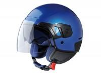 Helmet -VESPA PJ- open face helmet, blue sky - S (55-56cm)