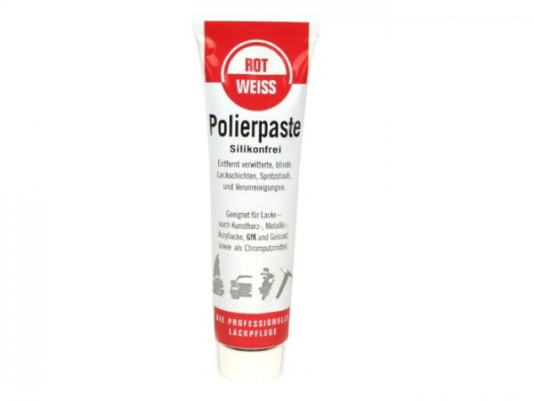Polishing paste -ROTWEISS- 100 ml