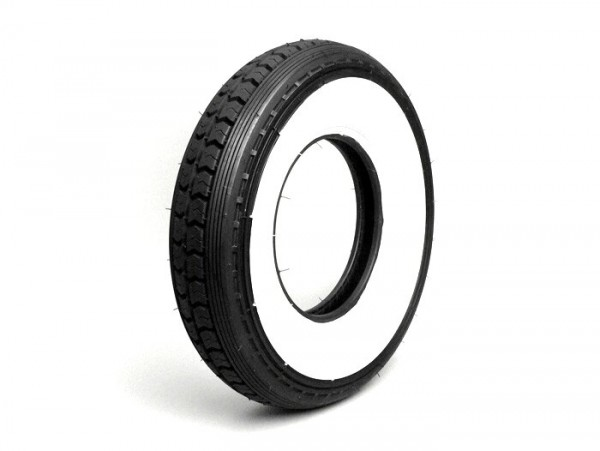 Tyre -CONTINENTAL white wall LB- 4.00 - 8 inch TT 55J