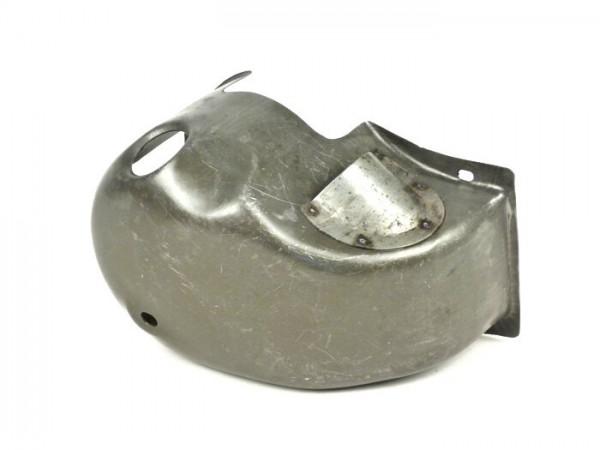 Cubierta de cilindro -LAMBRETTA- Lambretta LI, LIS, SX, TV (Serie 2-3), DL, GP - metálica engrasada - con toma de aire