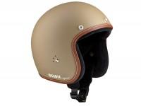 Helmet -BANDIT Jet Premium Line- sandy - L (59-60cm)