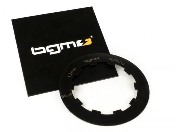 Clutch steel plate -BGM ORIGINAL- Lambretta LI, LIS, SX, TV (series 2-3), DL, GP - 1.2mm
