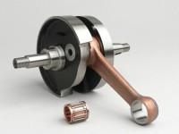 Crankshaft -TAMENI Standard (rotary valve)- Vespa T5 125cc