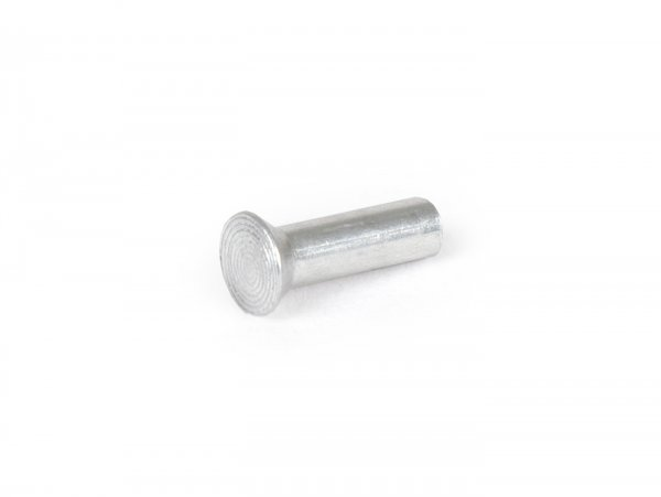 Senkniet Aluminium für Trittleiste -OEM QUALITÄT- Vespa V50, PV125, ET3, PK, PX, Sprint, Rally - Ø=3mm l=10mm