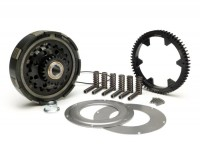 Clutch incl. primary drive set -BGM Pro Superstrong CR80, type Cosa2/FL- primary gear 63 tooth (straight) - Vespa PX80, PX125, PX150, PX200, Cosa, T5, Sprint150 Veloce, Rally, GTR, TS125, Super150 (VBC) - 23/63 tooth (2.74)