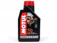 Oil -MOTUL 710- 2-stroke fully synthetic - 1000ml
