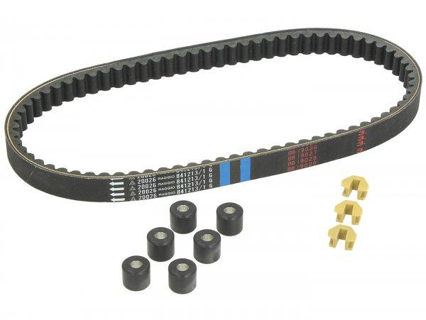 Inspektionskit -PIAGGIO, V-Belt Smart Kit- Vespa LX 125 (ZAPM44100, ZAPM44300, ZAPM68100), Vespa LX 150 (ZAPM44400), Vespa LXV 125 (ZAPM68102, ZAPM44301), Vespa S 125 (ZAPM44302, ZAPM68101), Vespa ET4 125 (ZAPM19000), Aprilia Mojito 125 (ZD4RY, ZD4SZ