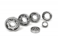 Ball bearing set for engine -SCOOTER CENTER- Vespa Smallframe V50, V90, SS50, SS90, PV125, ET3, PK S, PK XL - 6204
