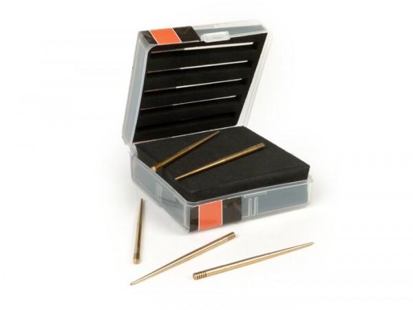 Needle set - BGM PRO-  fits Keihin/Stage6/bgm/Koso PE20, PWK24, PWK26, PWK28, PWK30 (JJH, JJK, JJL, JJM, JJN)