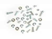 Kit tornillos para cubredirección y guardabarros -LAMBRETTA- Lambretta LI (serie 3), LIS, SX, TV (serie 3), DL, GP