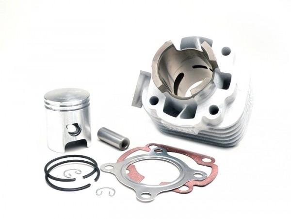 Zylinder -BGM ORIGINAL 50 ccm Aluminium- CPI AC Euro 2 - 12mm Kolbenbolzen - (0° geneigter Auspuffflansch)