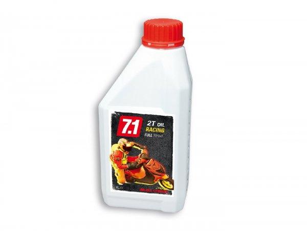 Öl -MALOSSI 7.1 Racing (SAE 20W-30)- 2-Takt vollsynthetisch - 1000ml