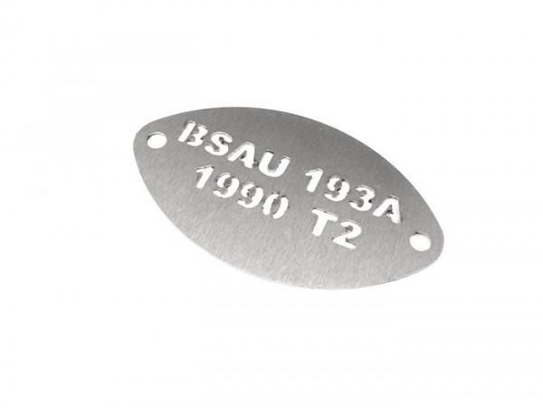 Plakette -BSAU- BSAU 193A 1990 T2