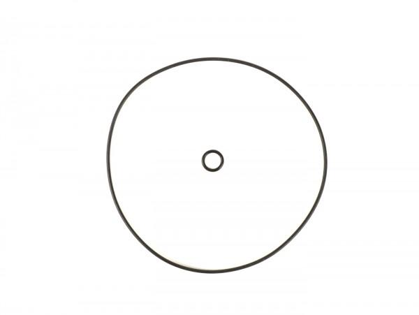 O-ring set for clutch cover (2 pcs) -BGM ORIGINAL- Vespa PX, T5, GT/GTR (VNL2), TS (VNL3), Super (VNC/VBC), GL150 (VLA), GL150 ACMA (VGL1), Sprint (VLB1), GS160 (VSB), Rally (VSD/VSE), SS180 (VSC), Cosa (VLR/VSR/VNR), Wideframe VM, VN, VNA, VNB, VB,
