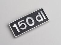 Badge de tablier -LAMBRETTA- 150 DL - DL 150