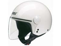 Helm -GREX DJ1 Visor One- weiss -