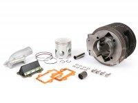 Cylinder -GRAN TURISMO GT186 Kit, incl. intake manifold and reed valve- Lambretta LI 125-150, LIS 125-150, SX 150, DL 125-150, GP 125-150