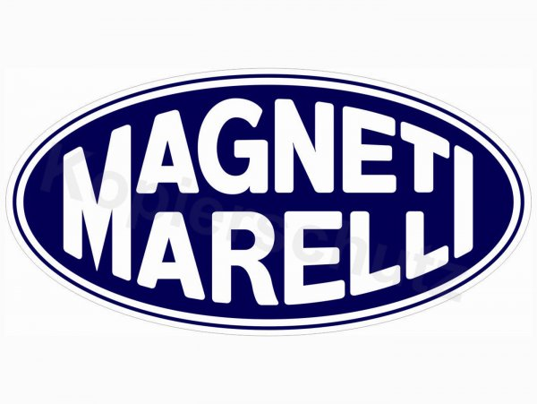 "Aufkleber -100 x 50mm- ""Magneti Marelli"""