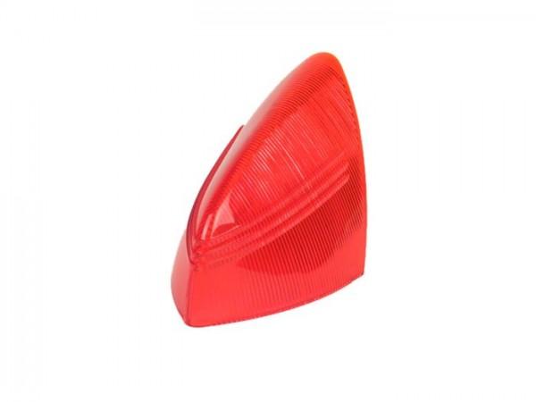 Rücklichtglas (Bremslicht) -SIEM- Vespa VNA2T, VBA1T (ab 1959), GS150 / GS3 (VS4T/VS5T ab 1959) - Rot