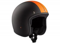 Helmet -BANDIT ECE Jet Race- matt black - L (59-60cm)