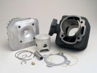 Zylinder -TOP PERFORMANCES 70 ccm Trophy- Peugeot AC (vertikal) - SPEEDFIGHT1 50 cc AC, SPEEDFIGHT2 50 cc AC, TKR50, TREKKER50, VIVACITY50, ELYSEO50, SQUAB50, SV50, ZENITH50, BUXY50, ELYSTAR50, LOOXOR50, SPEEDAKE
