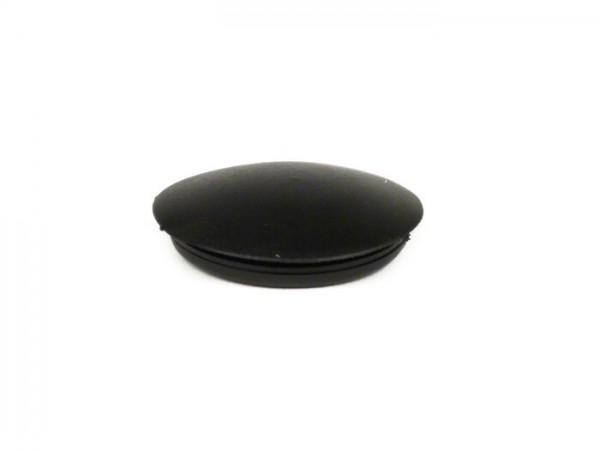 Blindstopfen Gummi -UNIVERSAL- schwarz - Ø=25,4mm - verwendet für Spiegellochbohrung Vespa GT/GTS 125-300
