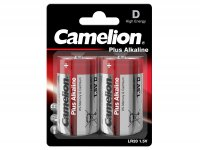 Battery Mono -CAMELION Plus Alkaline, D cell, LR20, 1.5 V- 2 pcs