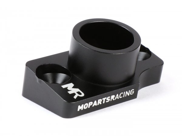 Intake manifold -MOPARTS RACING, Polini Speed Engine Ciao,SI, type PHBG24- AW=Ø24mm - black anodized