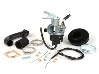 Carburettor kit -PINASCO Dellorto PHVB Ø22mm- Vespa Wideframe VM1T, VM2T, VN1T, VN2T, VL1T, VL2T, VL3T, VB, VGL1, ACMA - with intake manifold (fits Pinasco Nordkapp 160cc cylinder only)