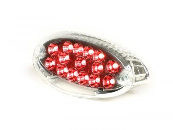 Rücklicht -BGM STYLE Klarglas LED - Peugeot Ludix