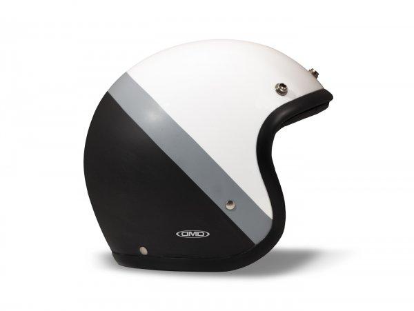 Helmet -DMD Jet Vintage- open face helmet, vintage - Dark Side - L (59cm)