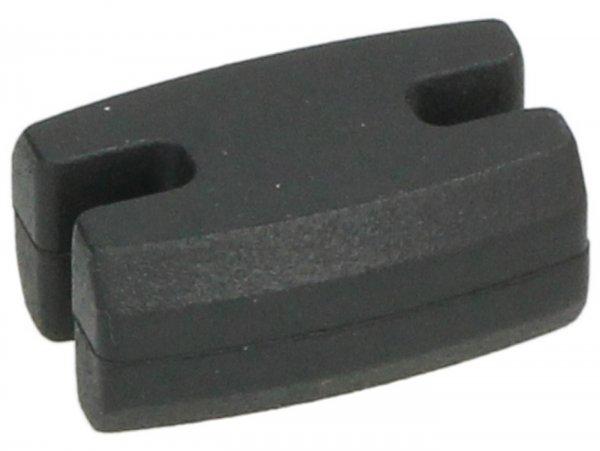 Gummipuffer für Abdeckplatte Kurbelwelle, Antriebsseite -PIAGGIO- Vespa GT L 125 (ZAPM31100), Vespa GT L 200 (ZAPM31200), Vespa GTS 125 (ZAPM31300, ZAPMA3100, ZAPMA3200, ZAPMA3700, ZAPMD3200, ZAPMD3201), Vespa GTS 150 (ZAPMA3200, ZAPMA3100), Vespa GT