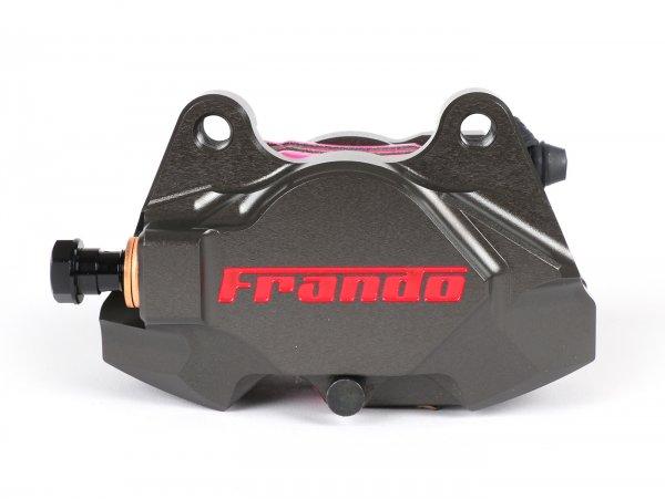 Bremszange hinten -FRANDO, 2-Kolben, Ø=34mm (F901)- Vespa GT, GTV, GTL, GTS, GTS Super 125-300ccm, Vespa 946 - titanfarben