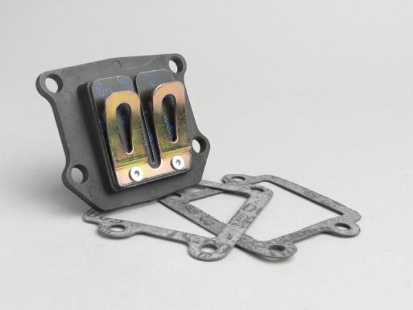 Membranblock -POLINI Evolution- Minarelli 50 ccm (vertikal) - BOOSTER, BUMP50, BWS50, SLIDER50, SPY, SR50 (-1994), STUNT, ZUMA50, AMICO