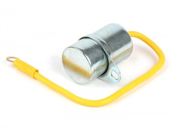 Kondensator -Ø=20mm, 1-Kabel- Vespa V50 N, V50 L, V50 R, V50 Special, V90, 90 SS, PV125