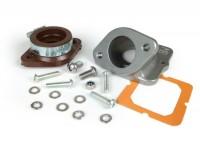 Intake manifold -MB DEVELOPMENTS, flange type TS1- Lambretta - CS Ø = 34mm