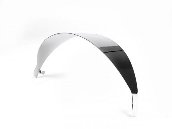 Headlight visor -CLASSIC- Vespa GT, GTL, GTS 125-300 - Chrome