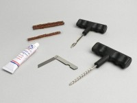 Tyre repair set -UNIVERSAL- for tubeless tyres