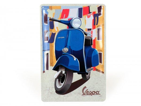 "Advertising sign -Nostalgic Art- Vespa ""Italian Laundry"", 20x30cm"