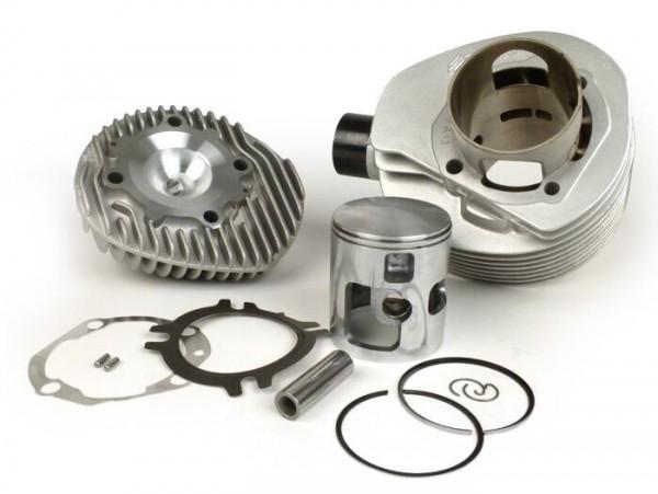 Zylinder -POLINI 210 ccm Aluminium- Vespa PX200, Rally200 - mit Zylinderkopf