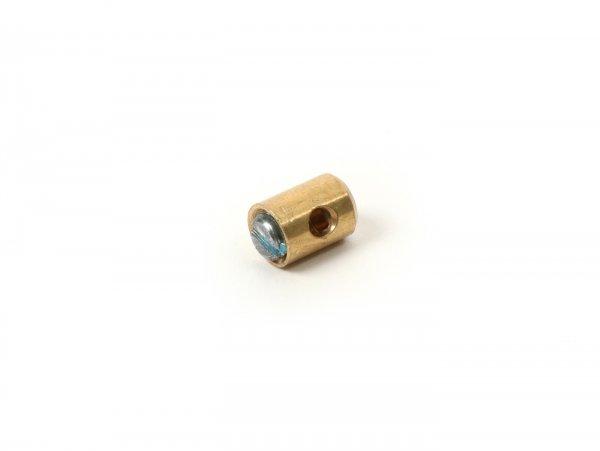 Klemmnippel / Schraubnippel -UNIVERSAL- Ø=5,5mm x 7mm (verwendet für Gaszug)