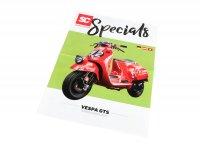 Flyer - Broschüre -SC Specials: VESPA GTS 125-300- Ausgabe 01/2019 - deutsch