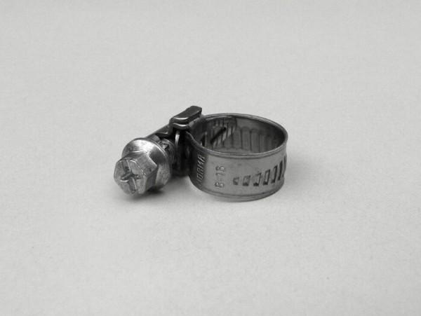 Abrazadera de manguera -UNIVERSAL- 10-16mm - anchura cinta = 9mm