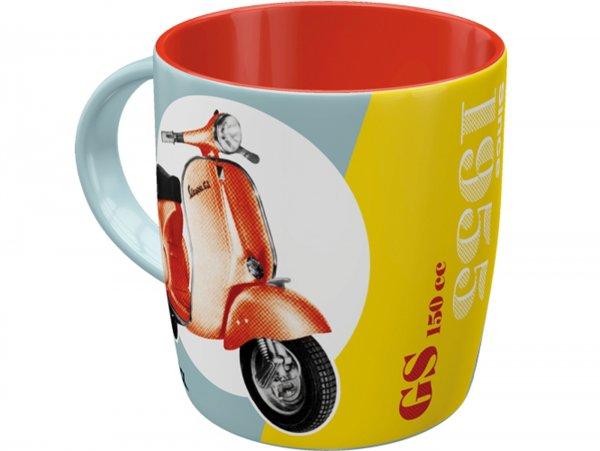 "Mug -Nostalgic Art- Vespa ""GS 150 Since 1955"", Ø=85mm x 90mm, 340ml"