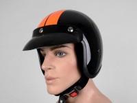 Helmet -BANDIT Jet Race- black - M (57-58cm)