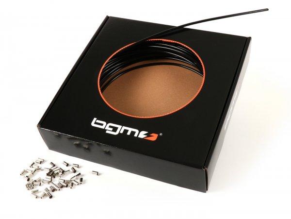 Gaine -BGM ORIGINAL, âme avec guidage en PE- Ø extérieur = 6mm (l=25m) - noir