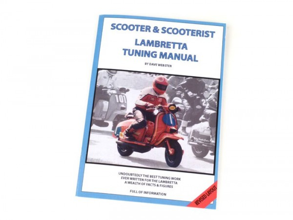 Book -Lambretta, Tuning Manual- by Dave Webster